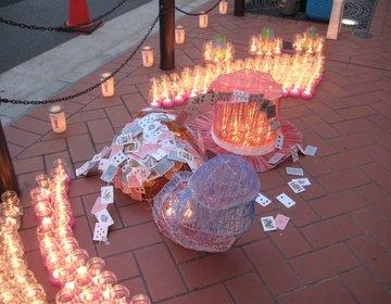 【茶屋町で幻想的なキャンドルナイト】大阪梅田で今年は行きたい!1000000人のキャンドルナイト!