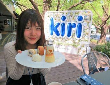 【2018年期間限定】青山ロイヤルガーデンカフェ「kiri café(キリカフェ)」がパワーアップ!キリコレの詳細もご紹介♡