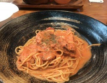 【飯塚】福岡市内でも大人気のお店はは飯塚でもやっぱり人気だった♡限定ズワイガニパスタを堪能♪