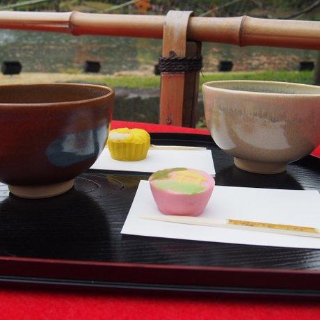六義園 吹上茶屋
