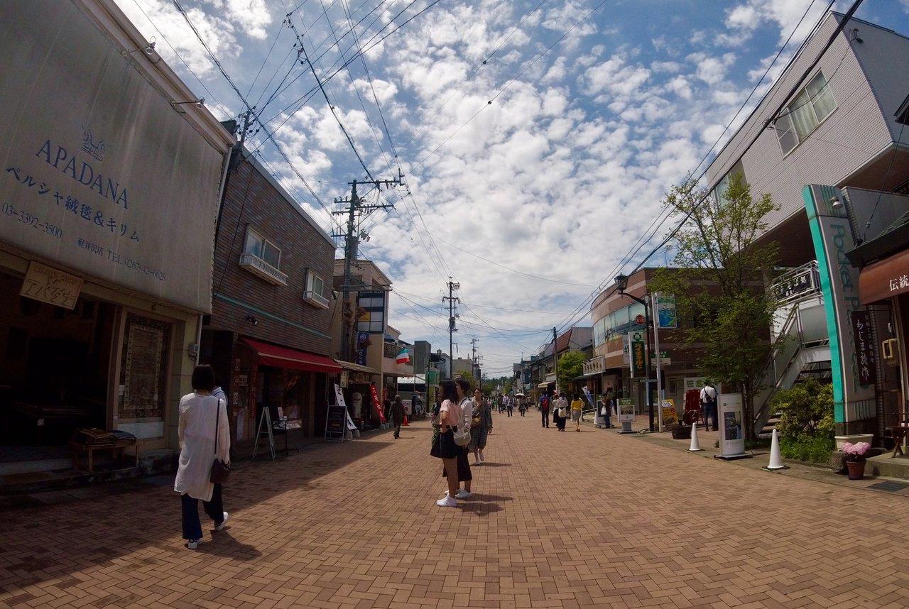 旧軽井沢/草軽交通