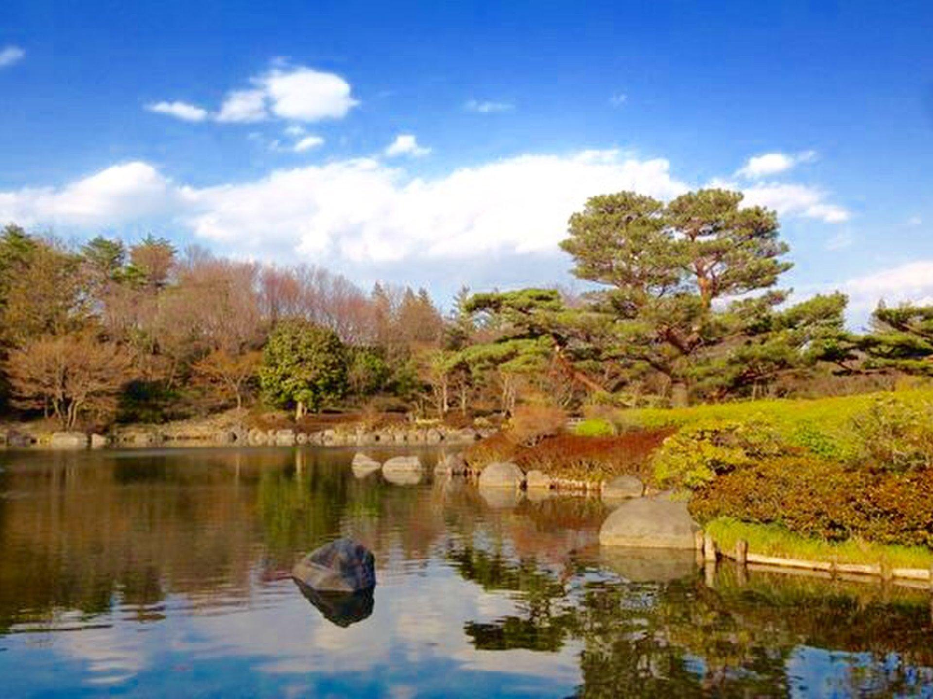 【休日にまったりお散歩できる!】低予算で落ち着いた休日を楽しみたい人向け。東京都内の穴場庭園特集!