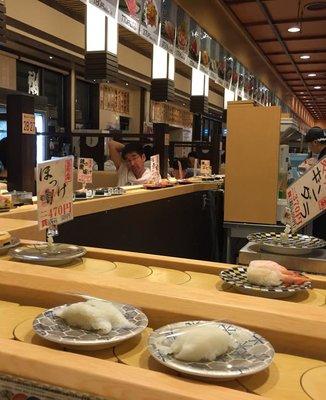 回転寿司 まるかつ水産 豊川店