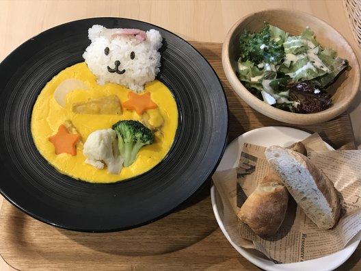 おふろcafe・utatane カフェコーナー
