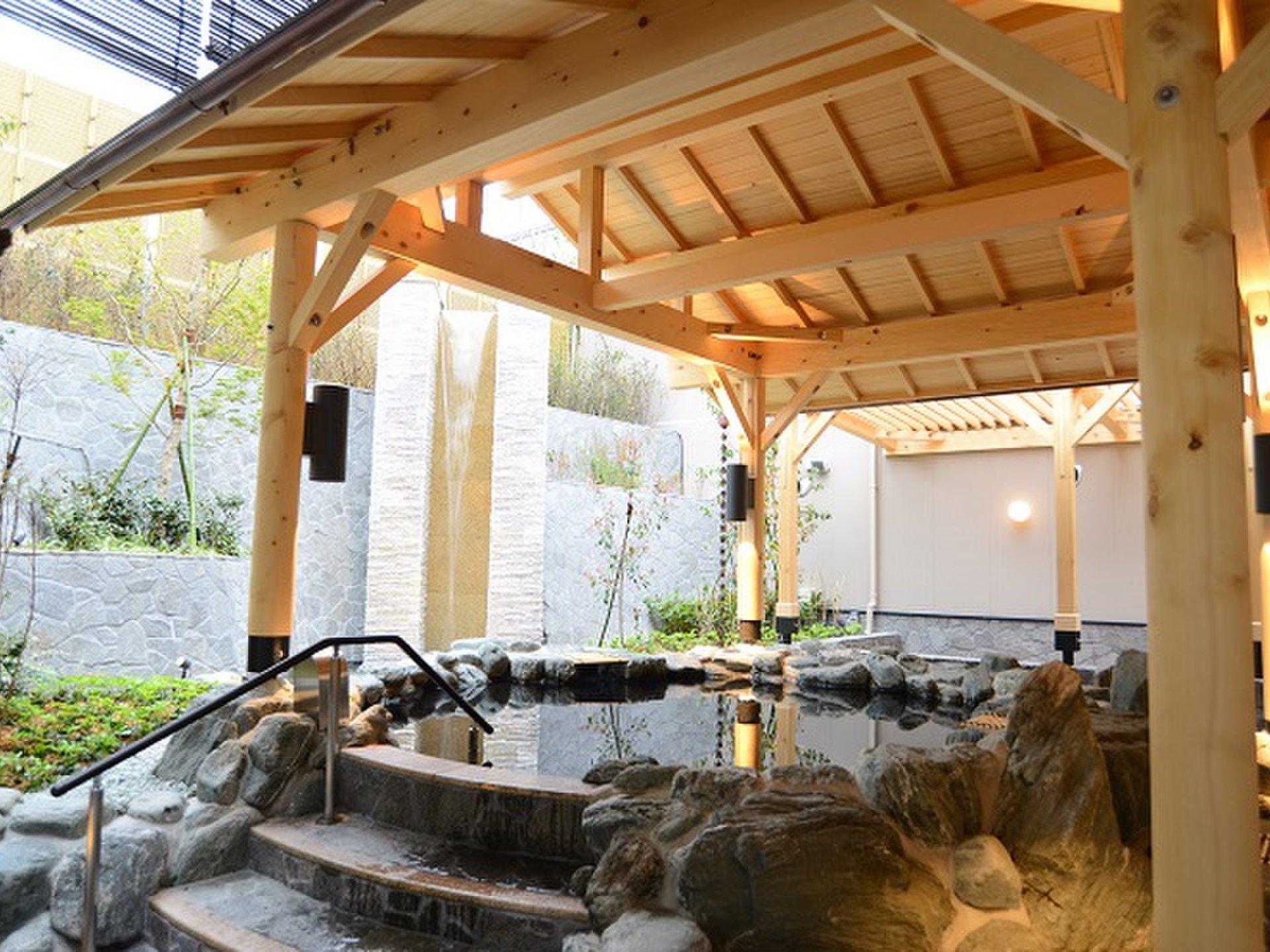 神奈川県の高級日帰り温泉「綱島源泉 湯けむりの庄」一日満喫プラン♪