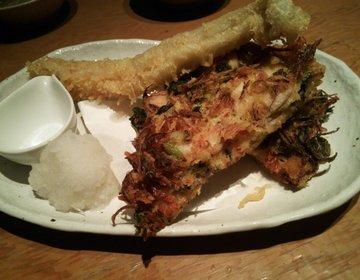 【個室居酒屋】浜松町のお魚に恋をしてで絶品穴子の天ぷらを食す!