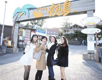 【電車で行けるコスパ最高の日帰り女子旅】東京から一番近いリゾート初島で遊ぼう!