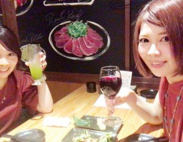 神田駅前に、お洒落バル発見♡安くてオシャレで、言うことなしの女子会になりました!