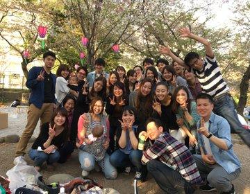 【名古屋市内で有名な花見スポットの鶴舞公園で花見☆】  〜花見するならやっぱここでしょ〜
