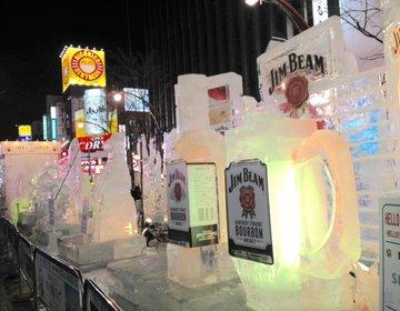 すすきのアイスワールドの氷像を観たあとは、伝説の味噌ラーメン「すみれ」へ♪