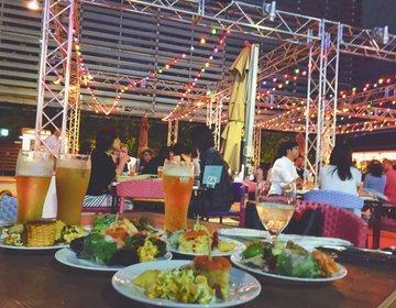 【新宿・ビアガーデン】東京小空で屋外女子会♡お料理にも雰囲気にも大満足!