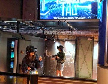 都内おすすめVR♡1,000円以下・東京ジョイポリス初対戦型VRを体験!