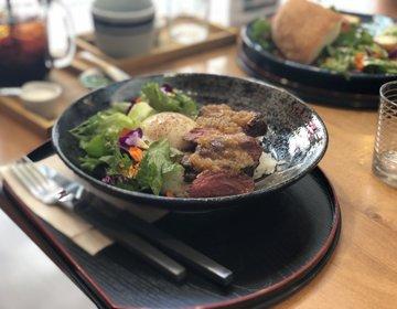 【海外雰囲気】エディブルフラワーが食べられる・浅草穴場おすすめカフェ