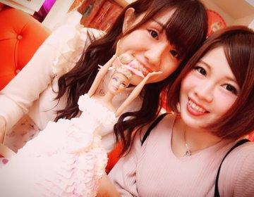 ピンクだらけのbarbiecafe♡バービー♡可愛い♡桜木町♡誕生日♡サプライズ♡横浜