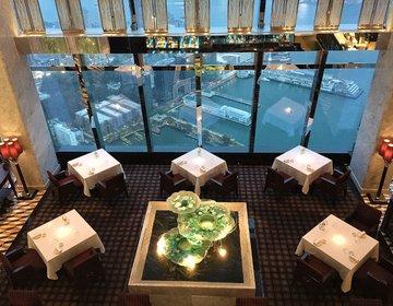 香港旅♡103階で夜景ディナー!おすすめホテル・リッツカールトンカフェ103