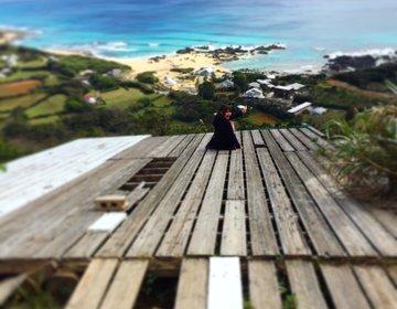 危険すぎる絶景スポット!2つの海が見える奄美大島・戸口に行ってみた♡