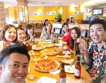 グアム旅!グループにお勧めピザランチ『カリフォルニアピザキッチン』とビーチプラン