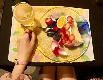 栄駅からすぐ!夜のカフェデートにぴったり♡天使のシフォンケーキ「ヴァードウィーク」