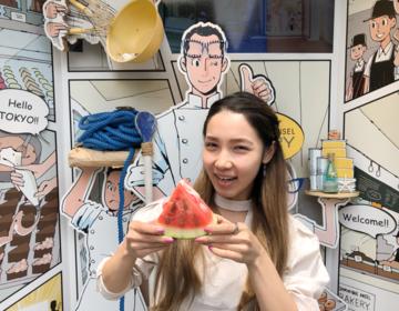 夏スイーツ♡表参道おすすめドミニクアンセルのスイカソフト食べた?