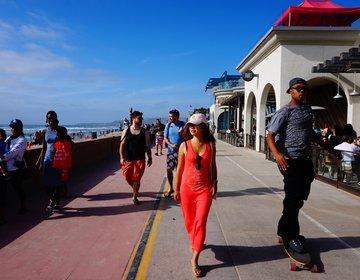 【サンディエゴ旅行】デートやファミリーにおすすめのミッションビーチ。 カフェや遊園地つき!