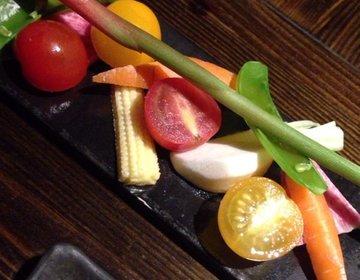 新鮮な野菜や魚を炉端焼きできる「俺の炭」でヘルシー女子会