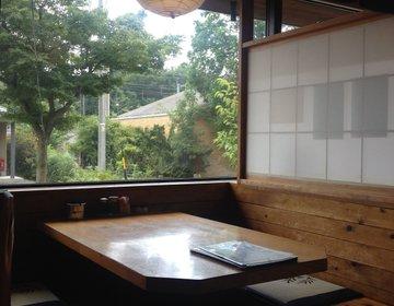 【軽井沢】自然&和な感じが良い◆信州そば屋でまったり/スペシャル¥1000以下美味定食ランチ有‼︎