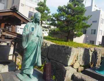 【柴田神社】〜絆の宮〜柴田勝家と歴史に翻弄された3姉妹がまつられる神社。実はモテ神様の神社?