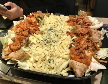 トローリ伸びるチーズが美味いタッカルビ!一泊二日で東京の真ん中を散策しよう☆車で行くバージョン☆