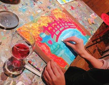初心者でもゴッホの絵が描ける⁉お酒を片手に絵画が嗜める「アートバー」で芸術Nightを