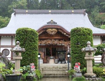 秋の秩父へ巡礼女子旅♪たくさんの仏像に出迎える!本堂の龍の彫り物も立派!札所12番「野坂寺」