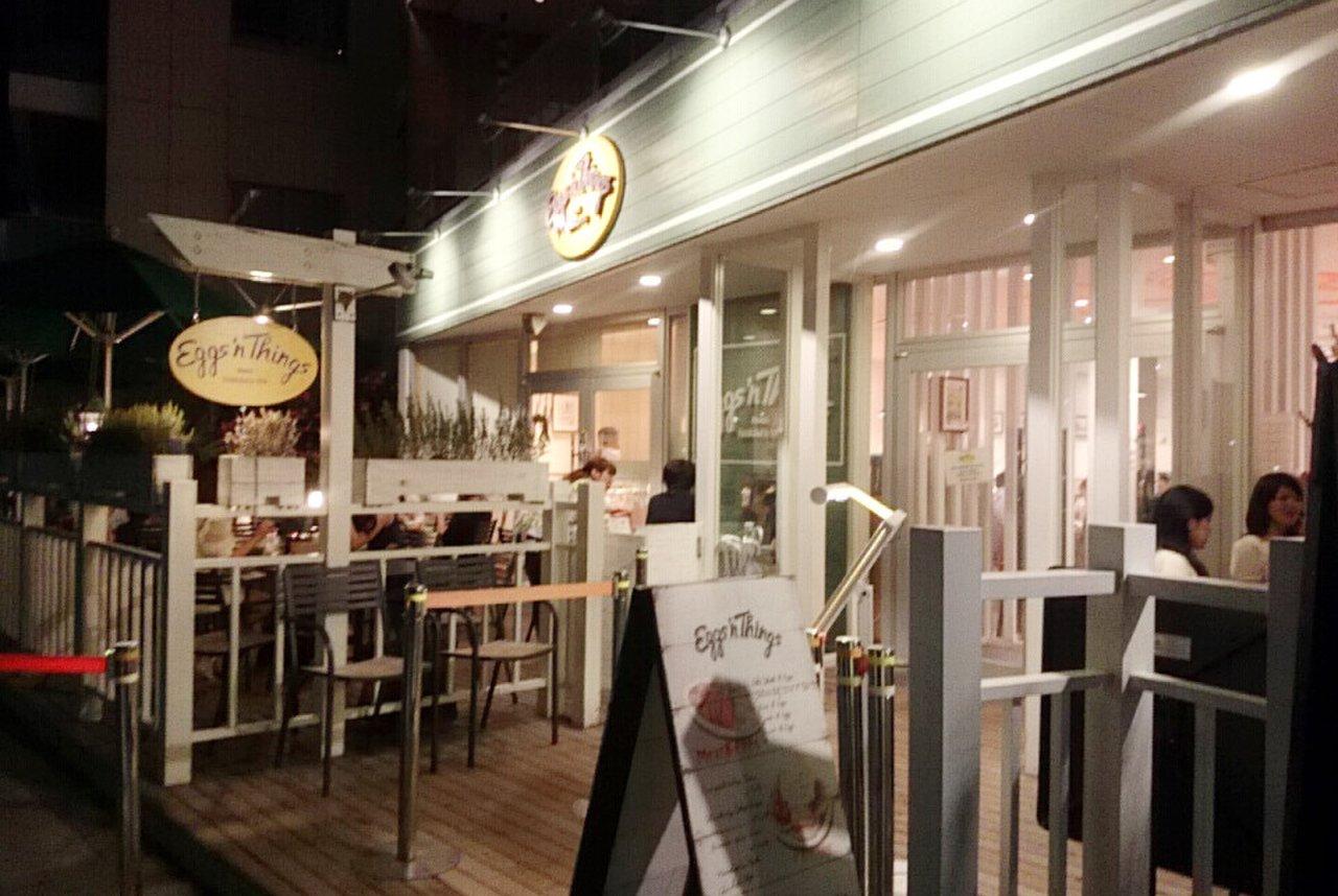 エッグスンシングス 湘南江の島店