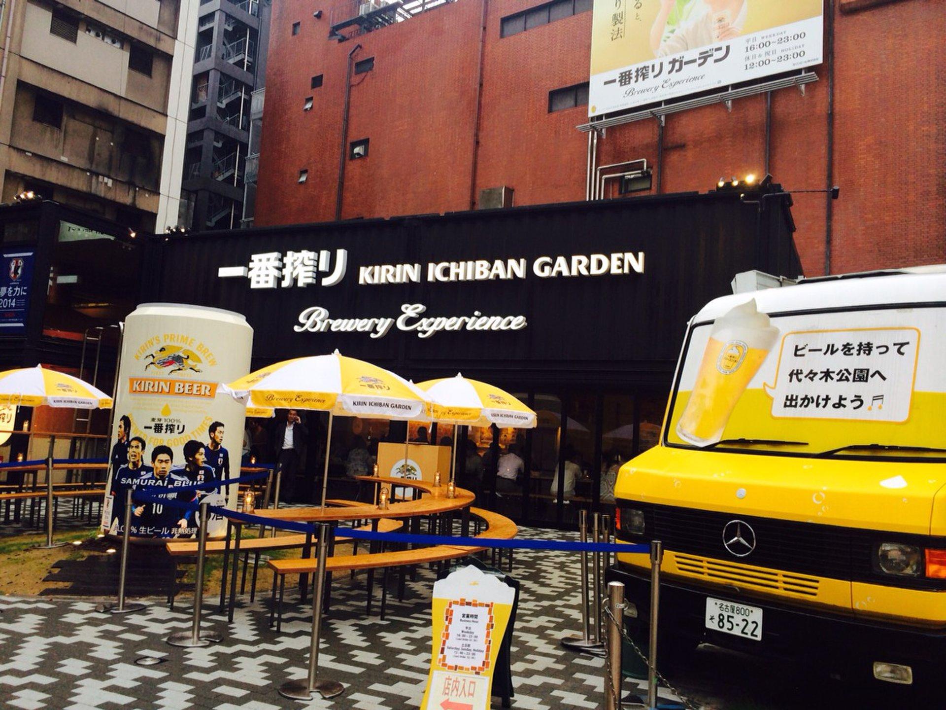 【渋谷でビアガーデン】今、話題の『キリン一番搾りガーデン』で飲んできた!