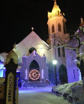 カトリック教会 元町教会