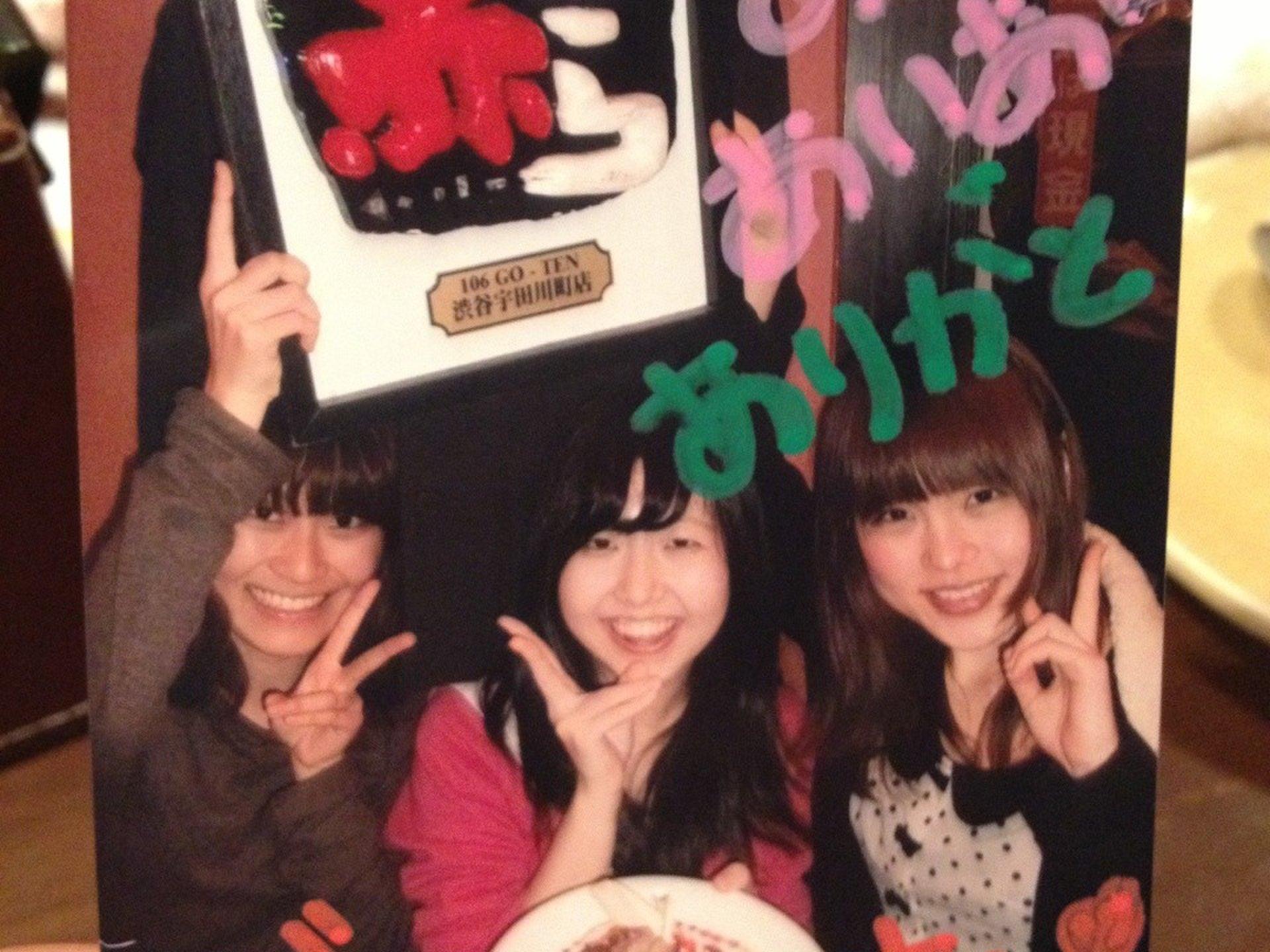 【渋谷でサプライズ誕生日パーティ】ディズニーストアでプレゼントから赤からへ