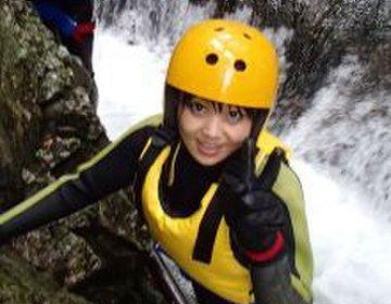 群馬県で川や滝の大自然の中の迫力満点アウトドア♥キャニオングにBBQ(バーベキュー)