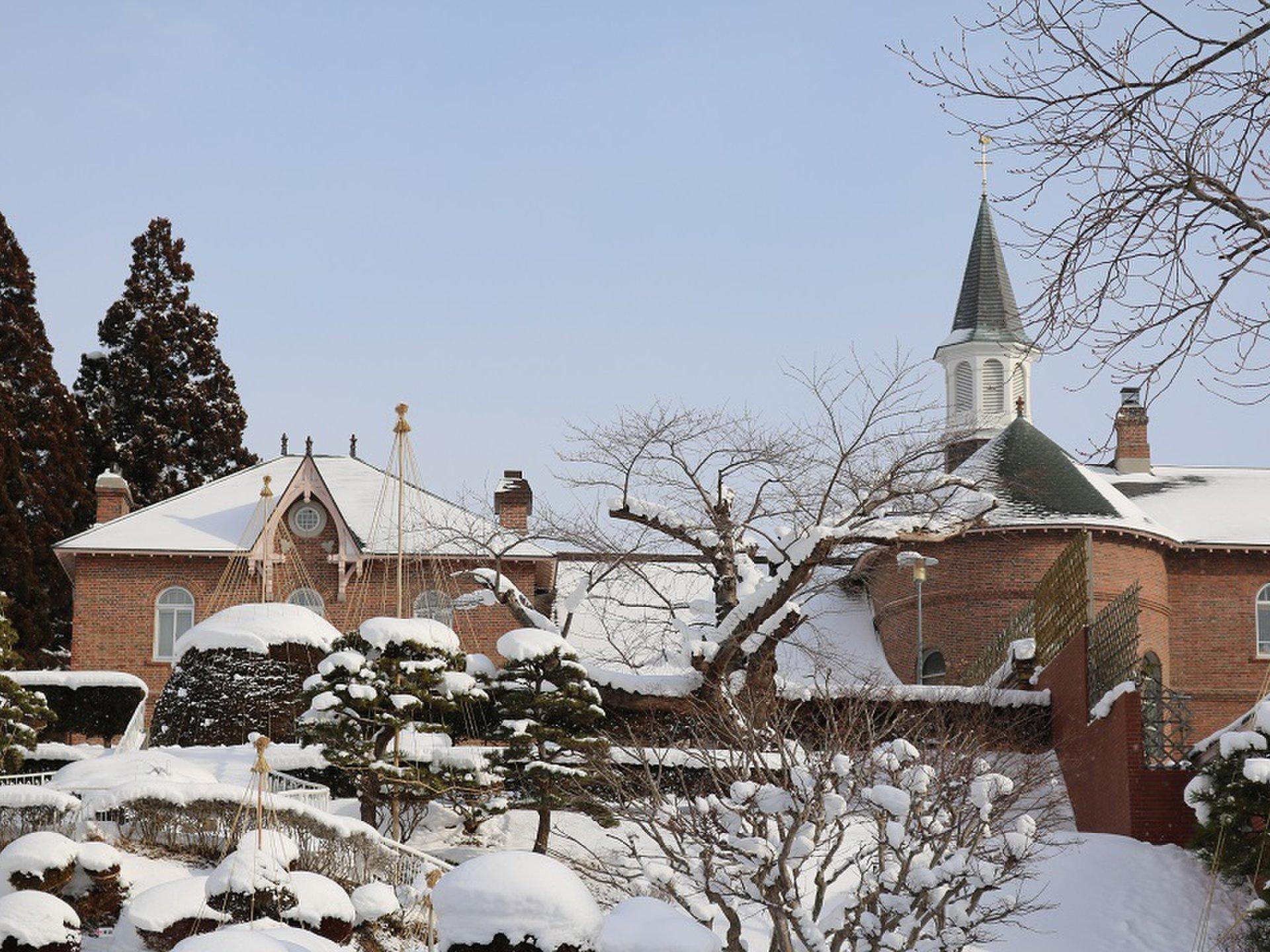 函館の観光名所 日本初の女子修道院トラピスチヌ修道院で、清らかで心静かなひとときを♪