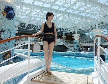 【ダイヤモンドプリンセス船内は外国にいるみたいな最高な場所】私の終日航海の過ごし方その② ブログ風。