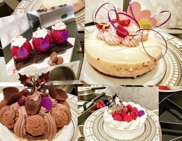 今年のクリスマスケーキがやばい可愛い件。インターコンチネンタル東京ベイ