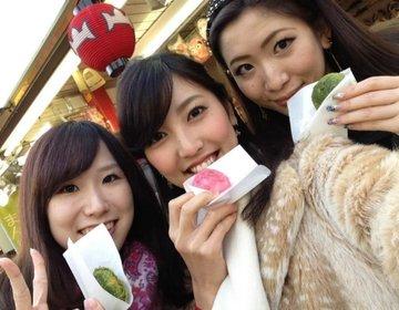 【下町、浅草を散策しながらGIRLSTALK】食べ歩きながら女子会!