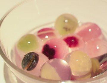 【まるで宝石!なスイーツ、九龍】フルーツたっぷりのカラフルなゼリー♪