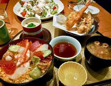 水戸駅直結のコスパ良い居酒屋「ごぼう」でいただく豪快サラダや海鮮丼の数々。水戸観光がてらどう?
