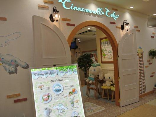 シナモロールカフェ京都店