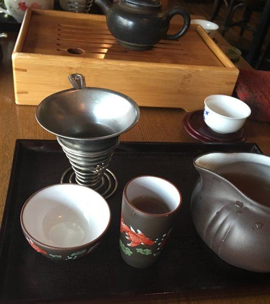 中国茶藝館茗香閣
