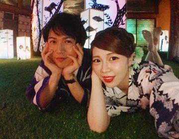 2017年ホテル雅叙園東京でごろごろしよう★東京の浴衣デートは、和のあかり×百段階段展!目黒