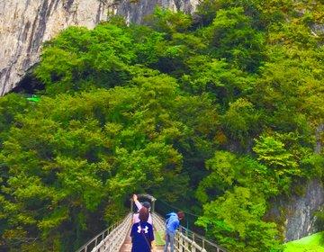 【岡山で自然の神秘を楽しむ】40分の鍾乳洞探検。新見市へ行ったら井倉峡と井倉洞へ