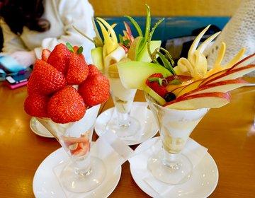 【金沢でおいしいパフェならここ!】フルーツパーラーの老舗の凄さ!フルーツがおいしい最強パフェ