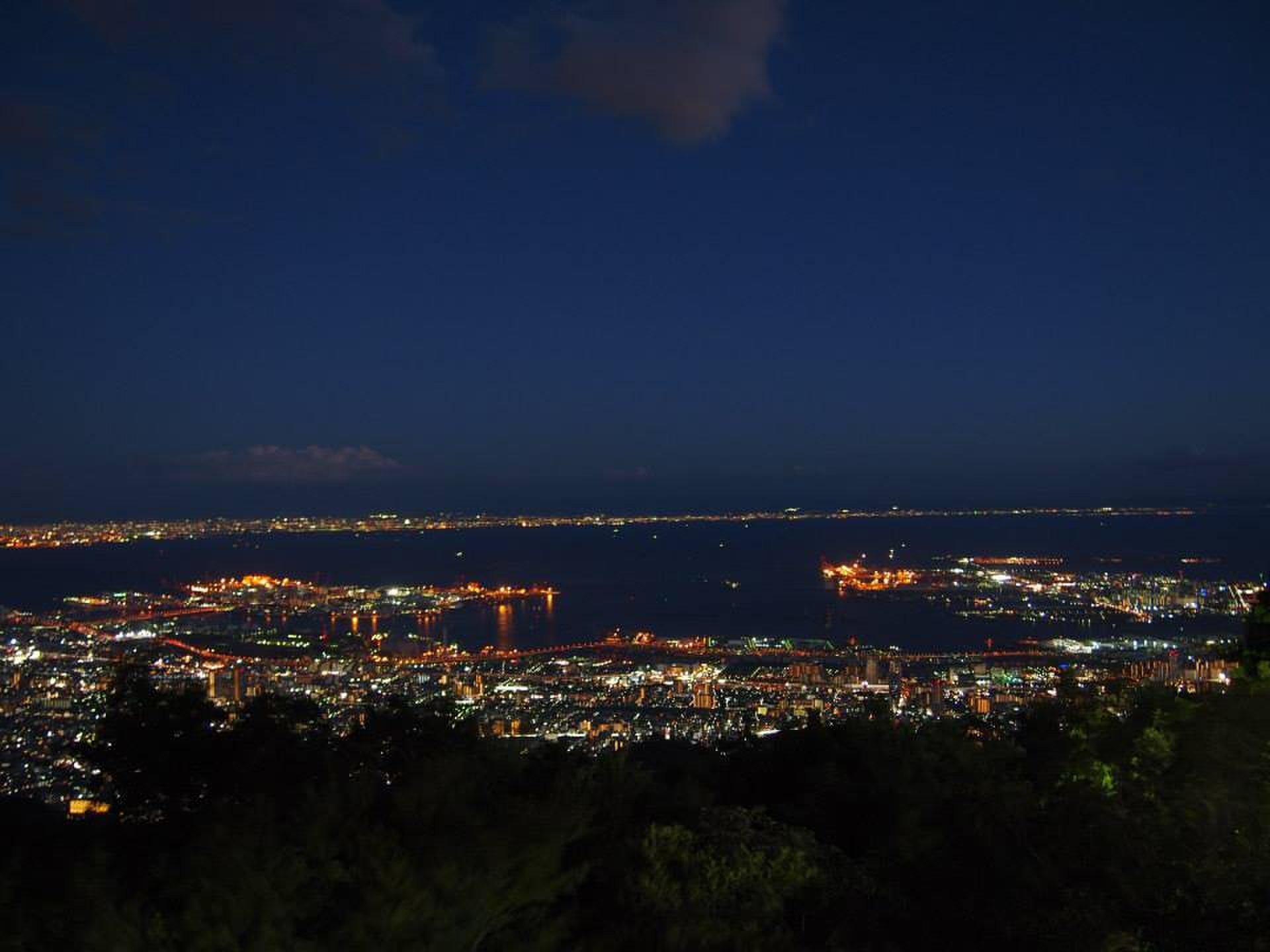 【兵庫県】大坂から日帰り・電車で行ける城と夜景を楽しめる1日!
