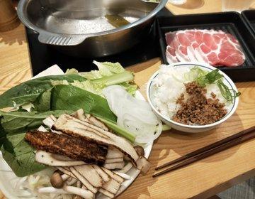 水戸内原・999円でおなかいっぱい!!!お野菜食べ放題のしゃぶしゃぶ。食べ放題ランチ「しゃぶ菜」
