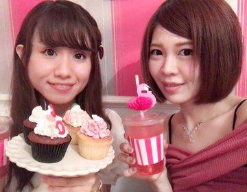 可愛いカップケーキ見つけた!ロンドンカップケーキ名古屋店は、フォトジェニック・フォトスポット♡