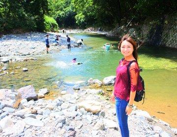 バーベキューと川遊びを堪能した後は温泉へ!この夏やり残したことを摂津峡で叶えよう!